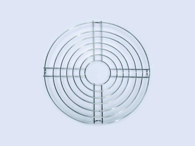 Rejilla redonda de 30 cm y 7 alambres